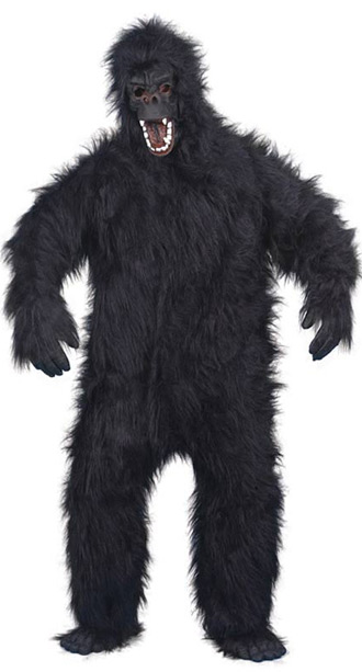 King Kong plush costume
