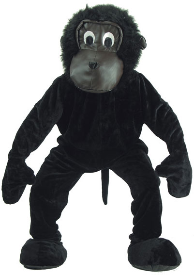 Gorilla Plush Costume