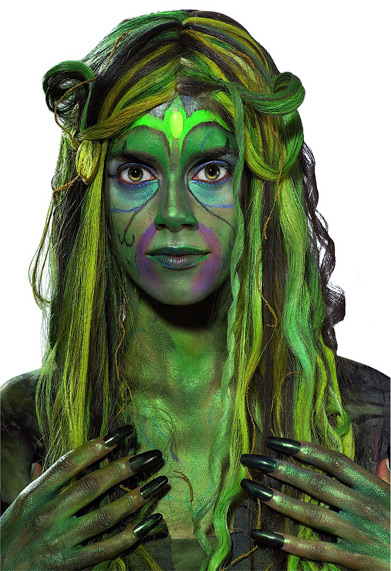Swamp Queen Perücke