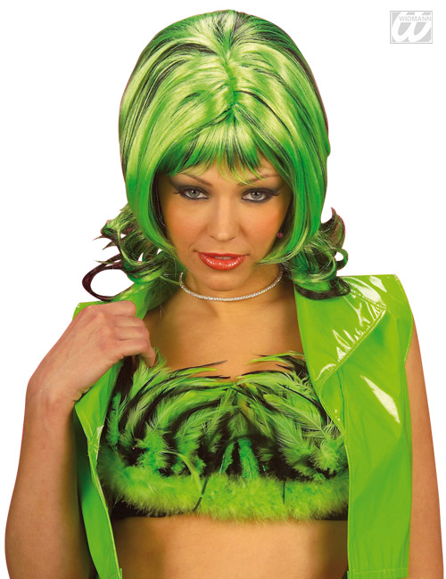 Glamour Girl Wig green