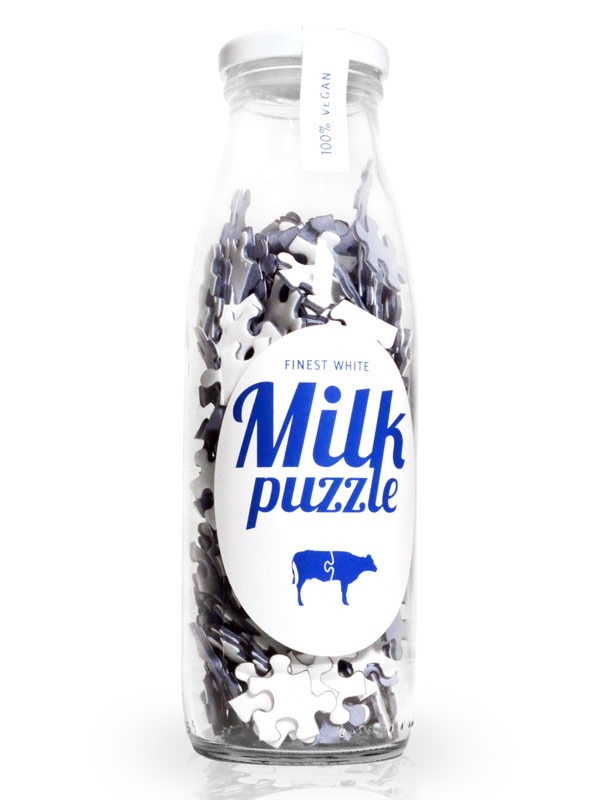 Milch Puzzle 266 Teile