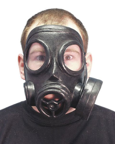 Gas Mask with latex