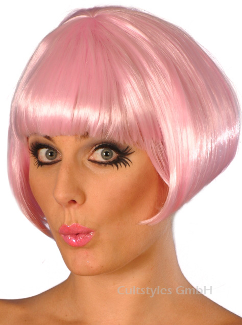 Pink Mary wig