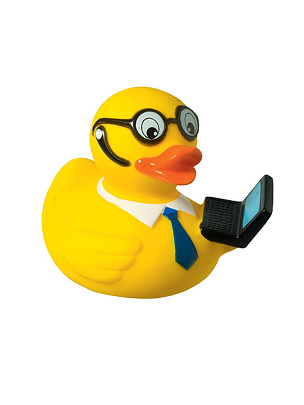 Rubber Duck Manager yellow-multicoloured