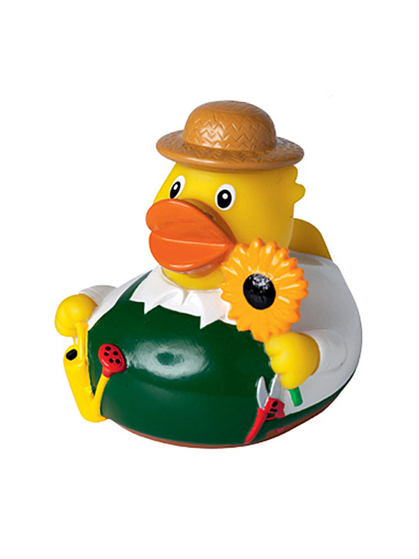 Rubber Duck Gardener yellow-multicolured