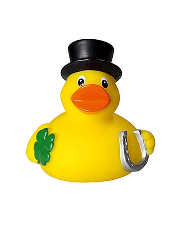 Rubber Duck Lucky Charm yellow-multicoloured