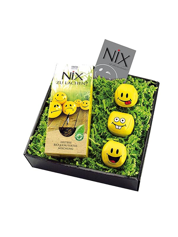 NiX zu Lachen Smiling Face Gift Set of 4