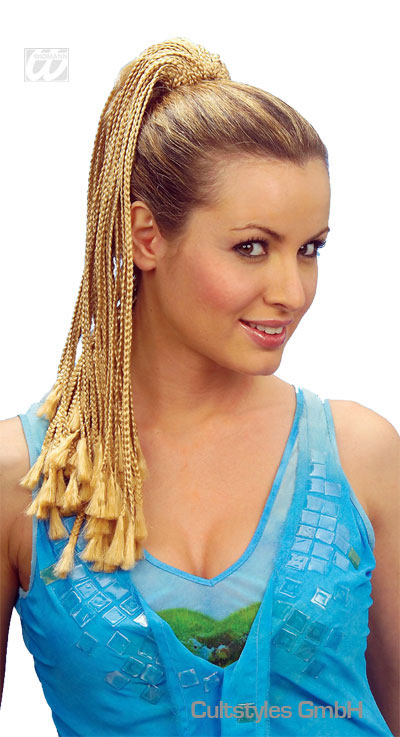 Plaited dreads hairpiece