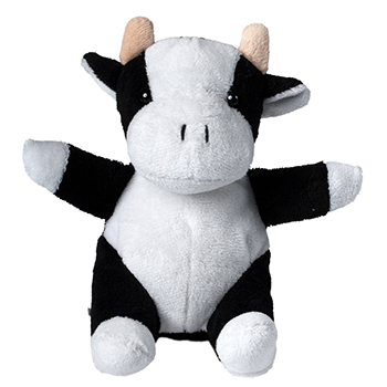 Plushie Cow black-white