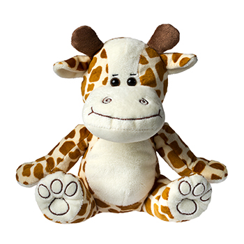 Plushie Giraffe yellow-brown
