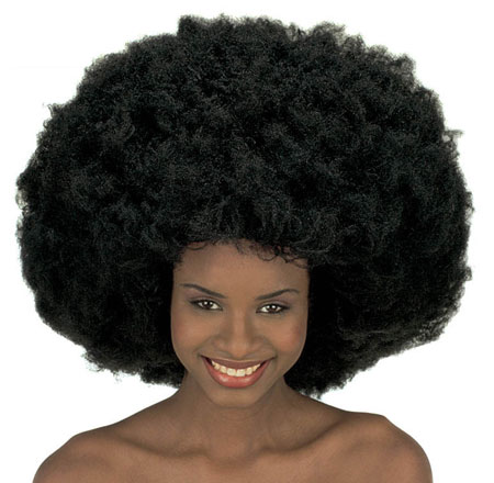 Largest Afro wig in the world!