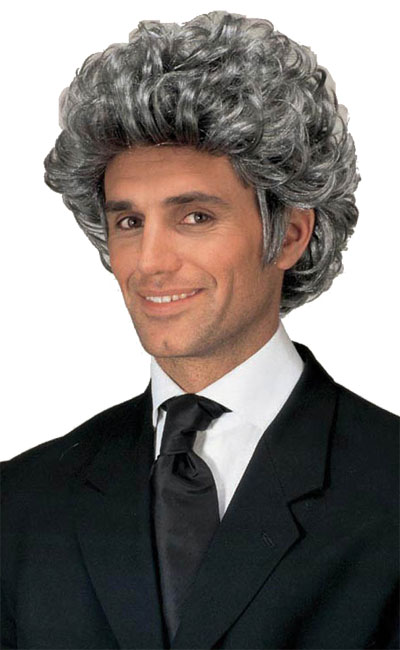 grey dandy wig