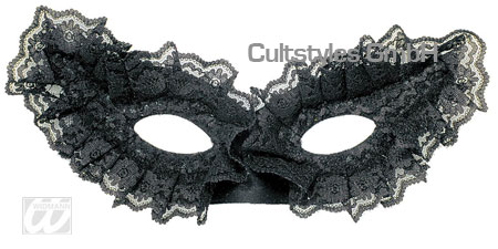 Eye mask with lace