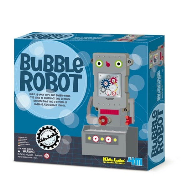 Kidz Labs Soap Bubble Robot