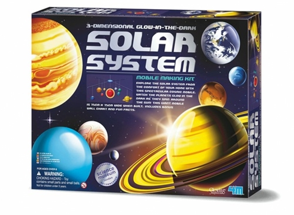 3D Glowing Solar System Mobile Making-Kit
