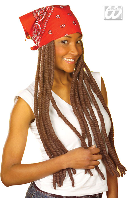Bandana with dreadlocks
