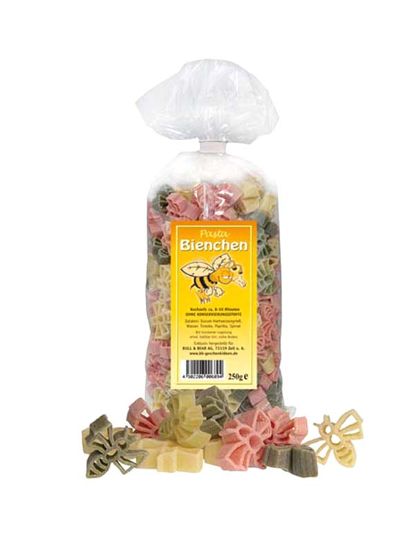 Multicoloured Bees Noodles Pasta 250g