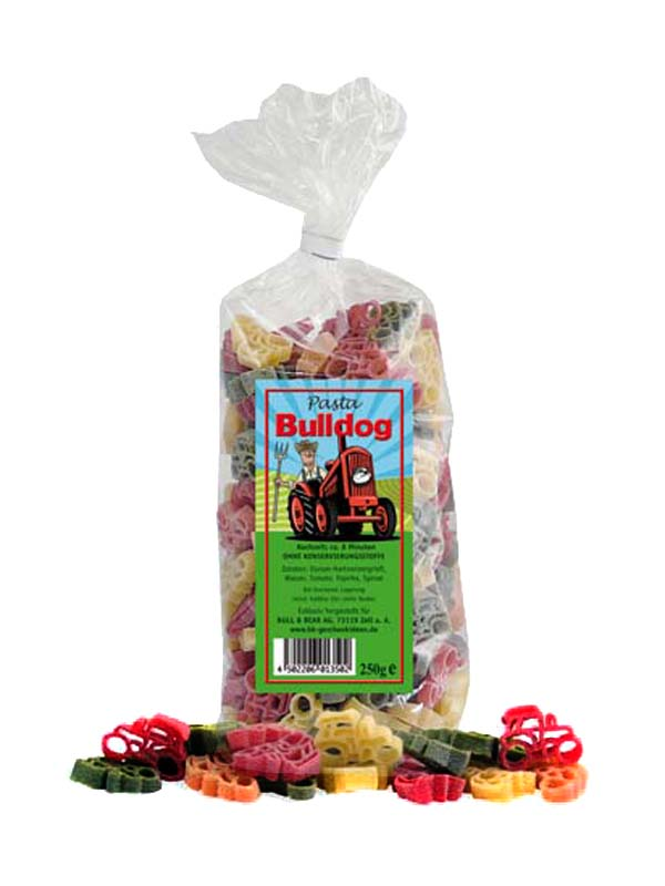 Multicoloured Tractor Noodles Pasta 250g