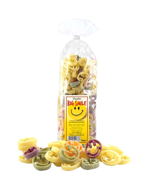 Multicoloured Good Mood Noodles Pasta 250g