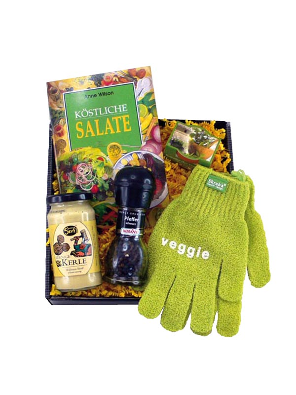 Gift Set Veggie with Cookbook Set of 5