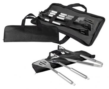 BBQ-Set Stainless Steel