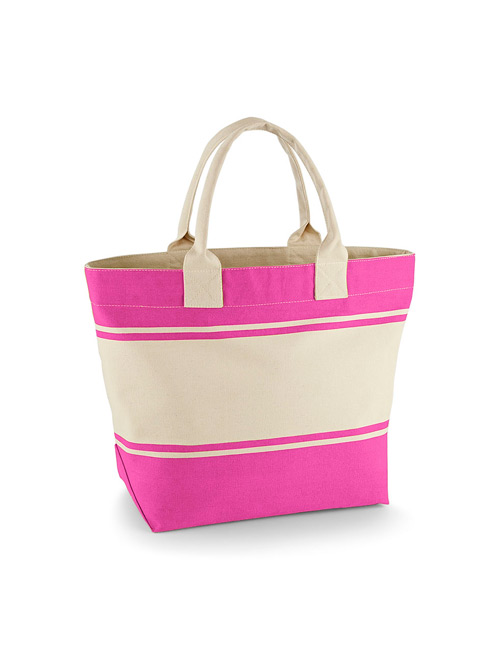 Cotton bag fuchsia