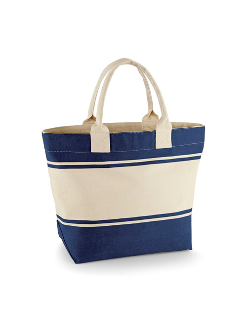 Cotton bag navy