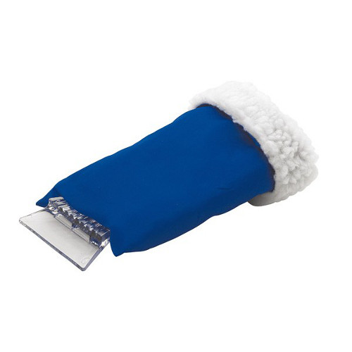 Clear Sight Ice Scraper blue