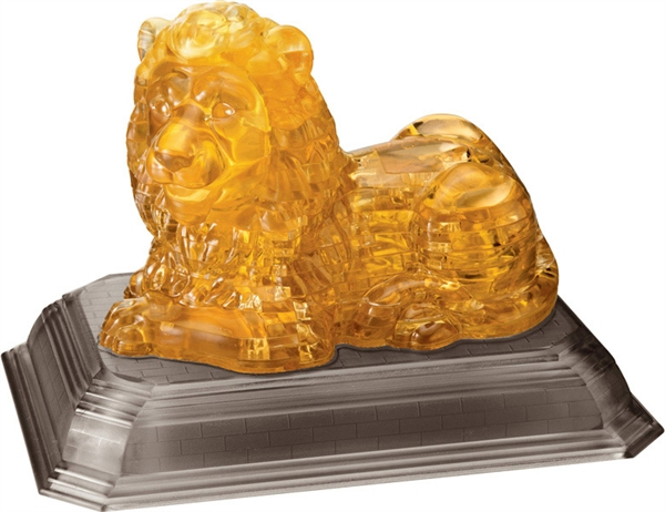 Crystal Puzzle Lion