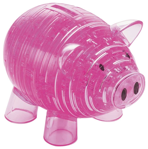 Crystal Puzzle Pig