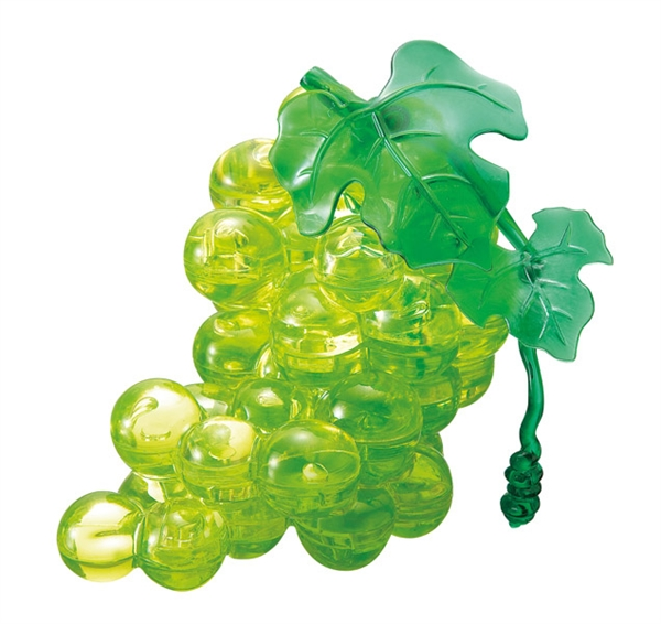 Crystal Puzzle Grapes green