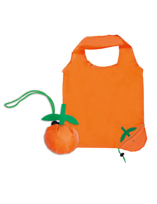 Foldable Bag Orange