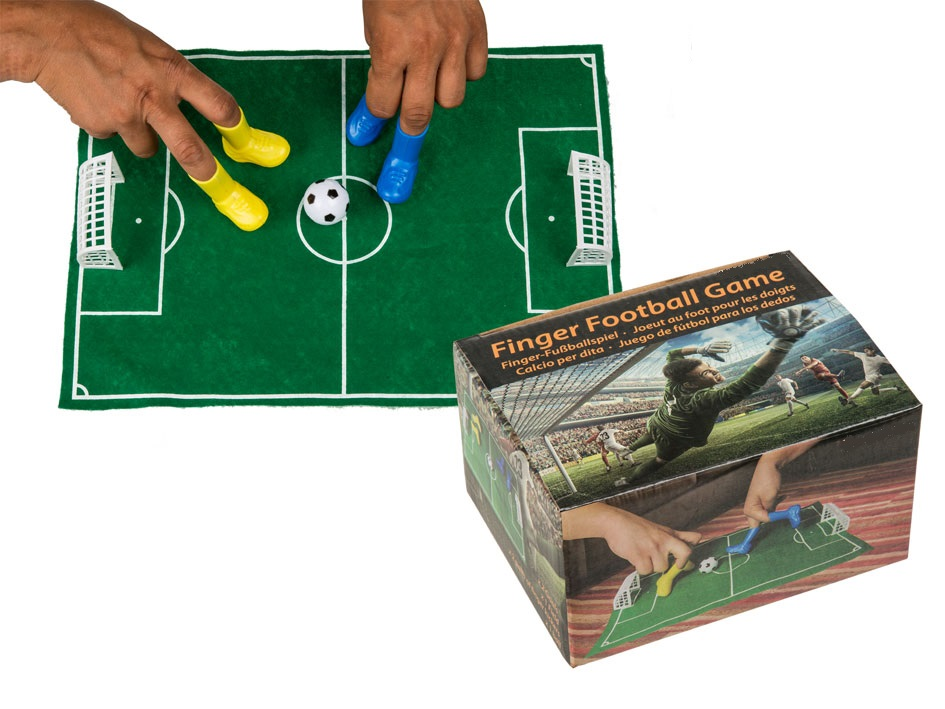 Finger Football Game 6 Pieces green