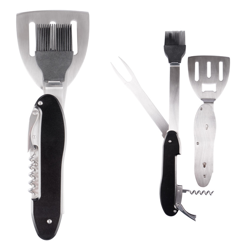 Barbecue Multifunction Tool silver-black