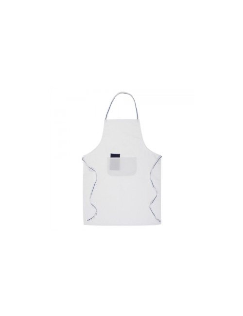 BBQ Apron Bacatis white