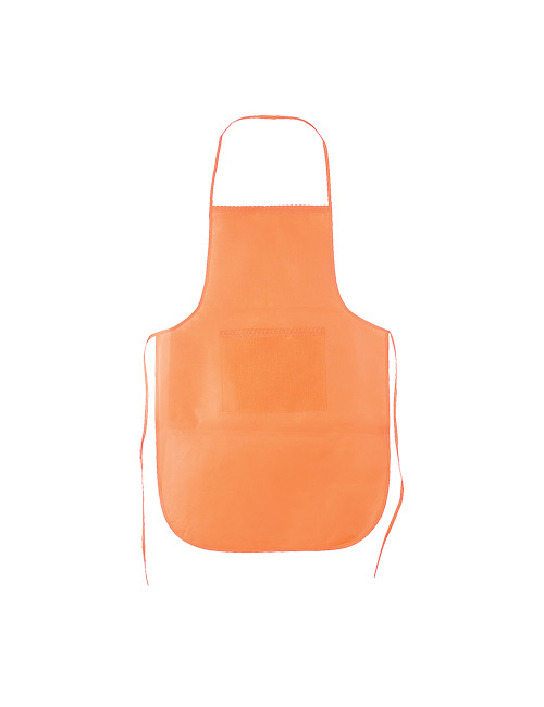 BBQ Apron Chef orange