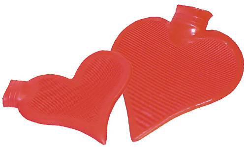 Heart hot-water bottle (big)