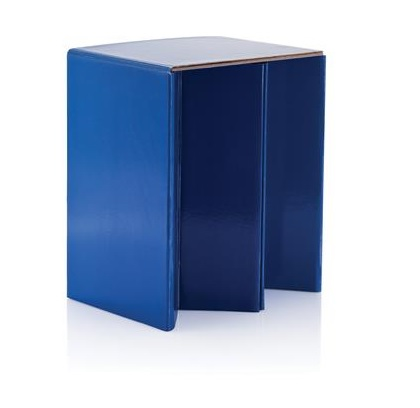 Foldable Cardboard Chair blue