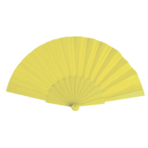 Plastic Fan, yellow