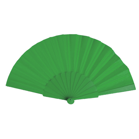 Plastic Fan, green