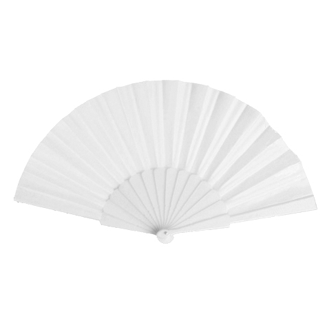 Plastic Fan, white