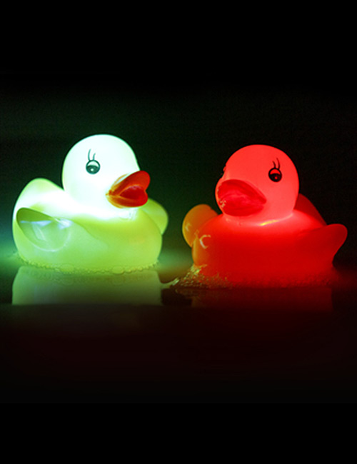 Flashing LED Rubber Duck