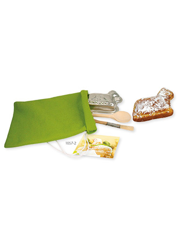 Baking set in felt bag