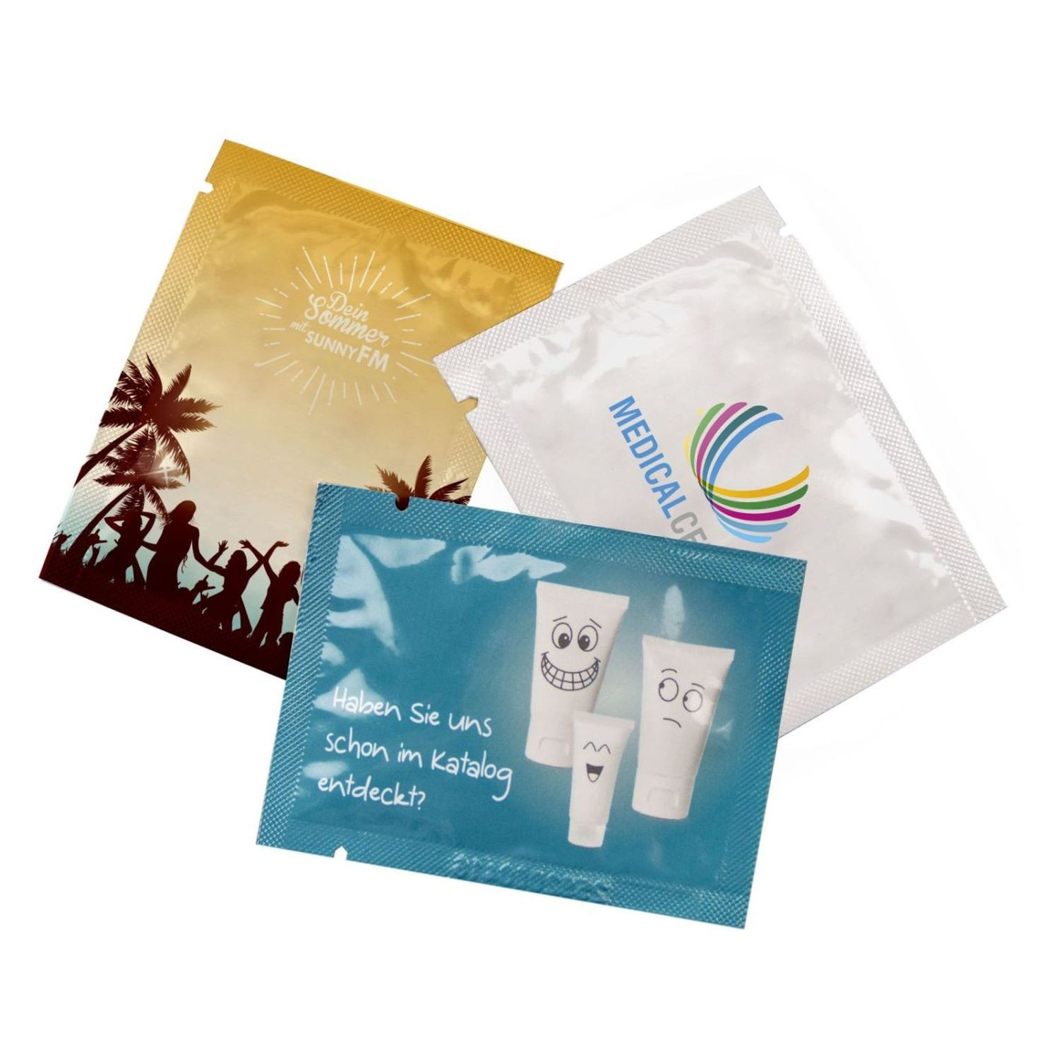 Body Care Sachet with your Advertising