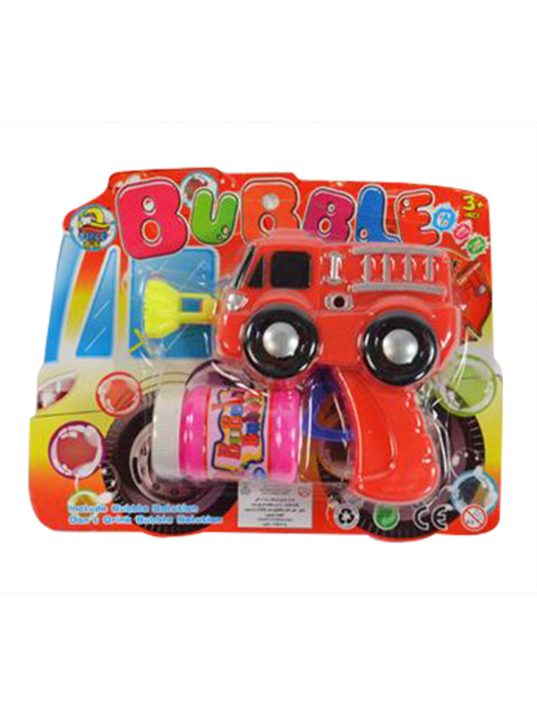 Soap Bubble Gun Fire Truck red