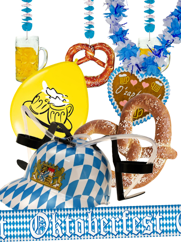 Oktoberfest set for party decoration