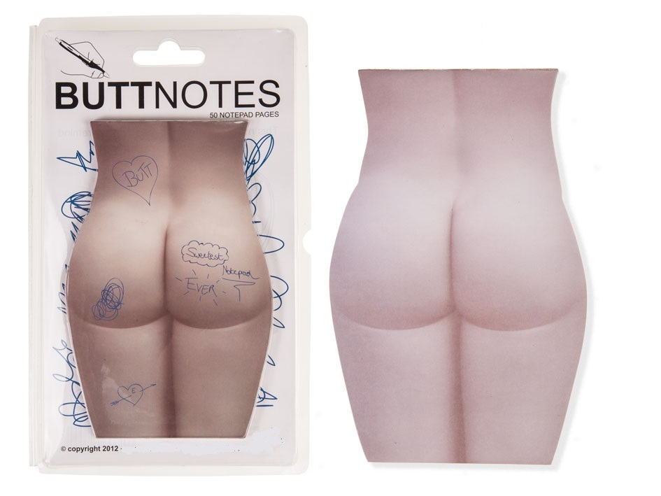 Sexy Butt Notepad skin-white