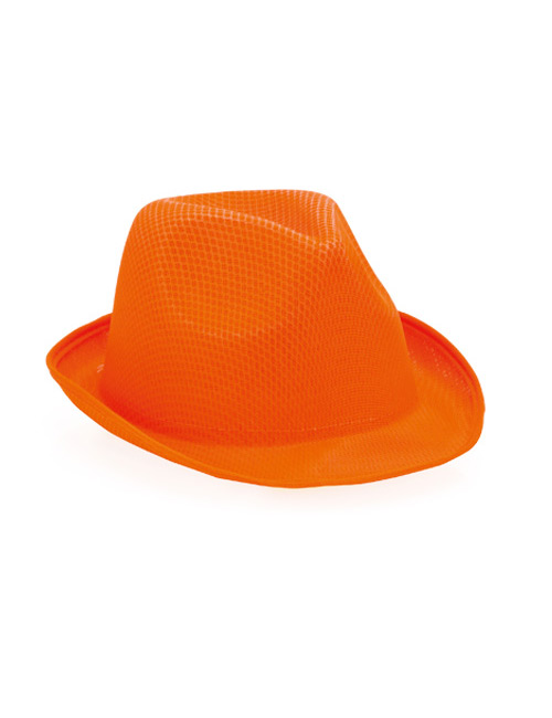 Stoffhut orange