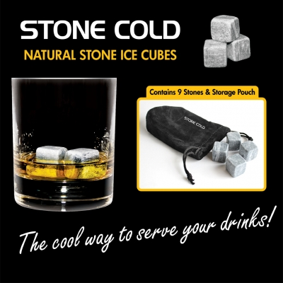 Ice Cubes out of Stone