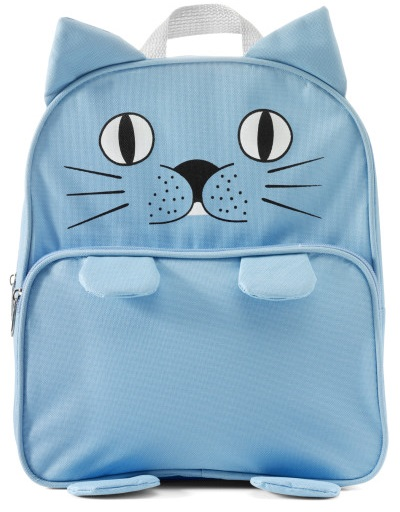Kids Backpack Animals Cat blue